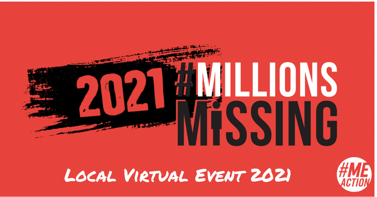 #MillionsMissing: Local Virtual Events 2021